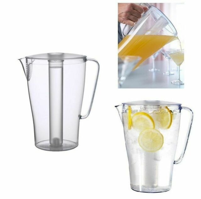 Ikea Sommar 2018 Pitcher With Lid Clear, Glass Beverage Dispenser Ikea