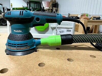 Makita DKP180Z planer to festool midi 2 dust extractor vacuum cleaner adapter