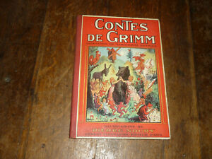 ILLUSTRE-1935-CONTES-DE-GRIMM-PAR-PIERRE-NOURY-ED-FLAMMARION