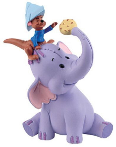 Figurine disney winnie the pooh bullyland 12499 lumpy /& little guru new 8 cm