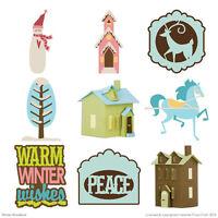 Cricut Cartridge Winter Woodland Basics/fondations 29-1046