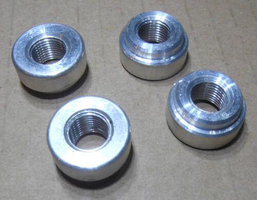 """1//8/"""" female NPT 100 PIECES Weld Bung  Fitting Billet Aluminum 6061 ALUMINUM"""