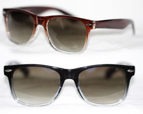 Sonnenbrille Vintage Retro 50er 60er Jahre braun schwarz rot transparent 881