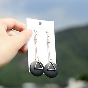 Fashion-Boho-Round-Wood-Earrings-Women-Triangle-Dangle-Drop-Hook-Earring-Jewelry