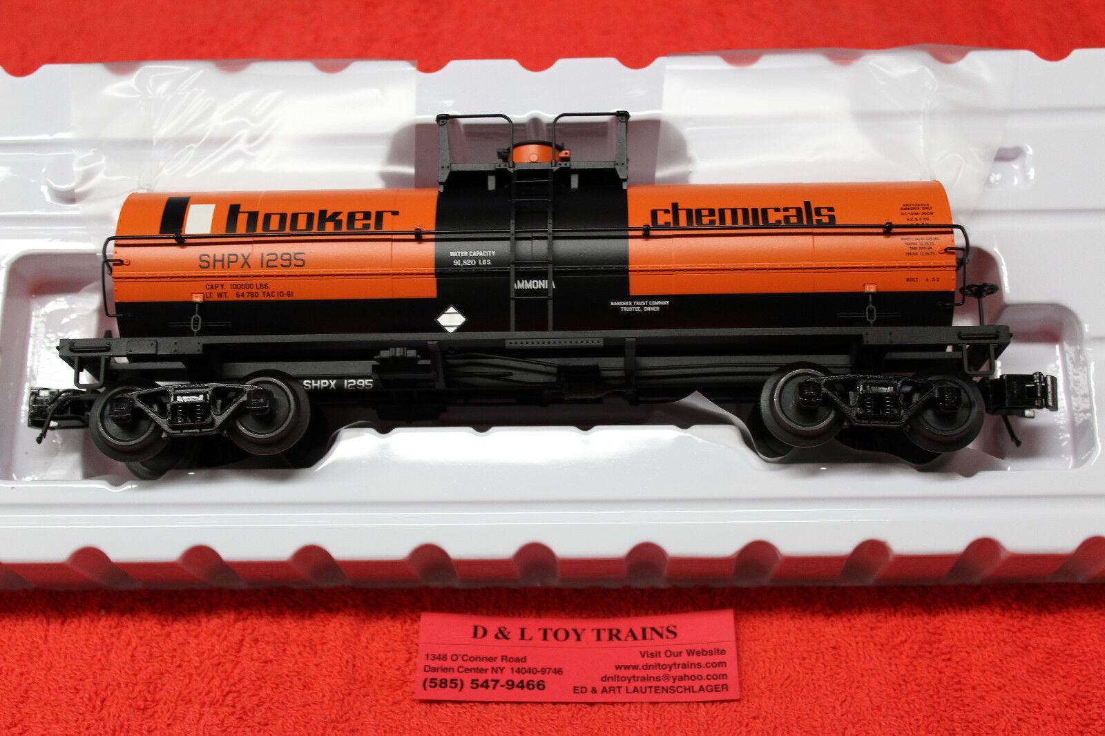 3005509 Hooker Chemical 11,000 Gallon Tank Car 3 Rail NEW IN BOX