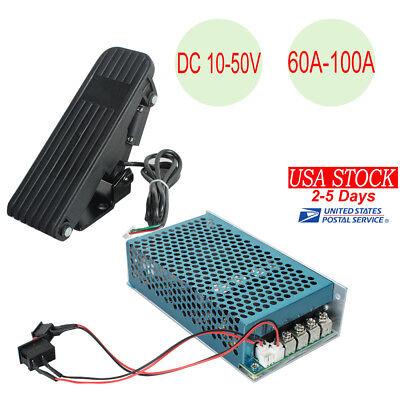 12V 24V 36V 48V 100A 5000W Reversible DC Motor Speed Controller PWM Control USA