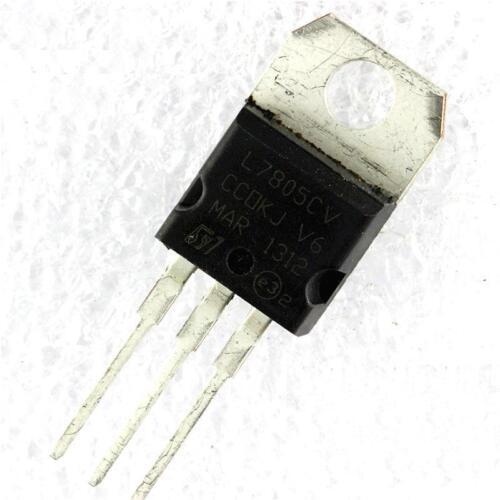 30PCS IC L7805CV L7805 7805 TO-220 Voltage Regulator 5V ST NEW
