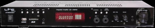 Ltc ATM6000BT Hifi Receptor con Bluetooth Karaoke 2x 50W Fm USB SD