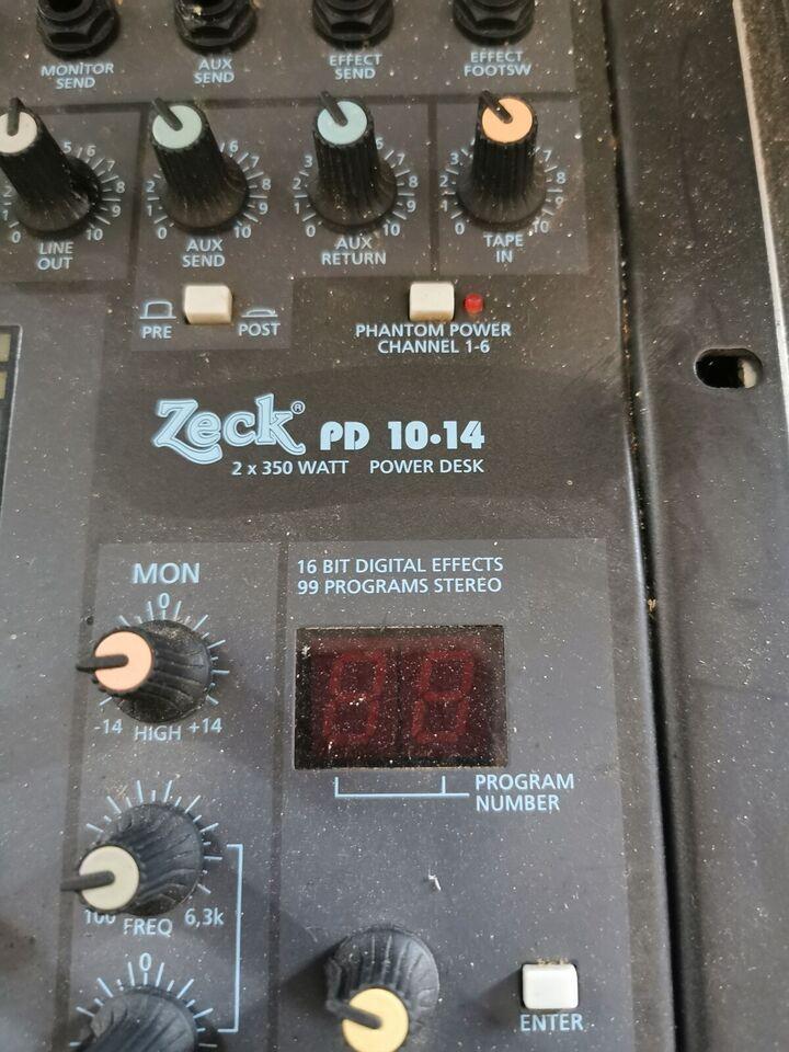 Højttaler, Andet mærke, Zeck pd 10-14