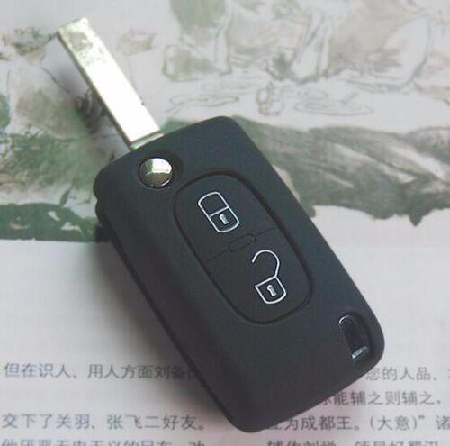 CB227 Remote Silicone Key Case Protective For Peugeot 208 207 3008 308 RCZ 508 \