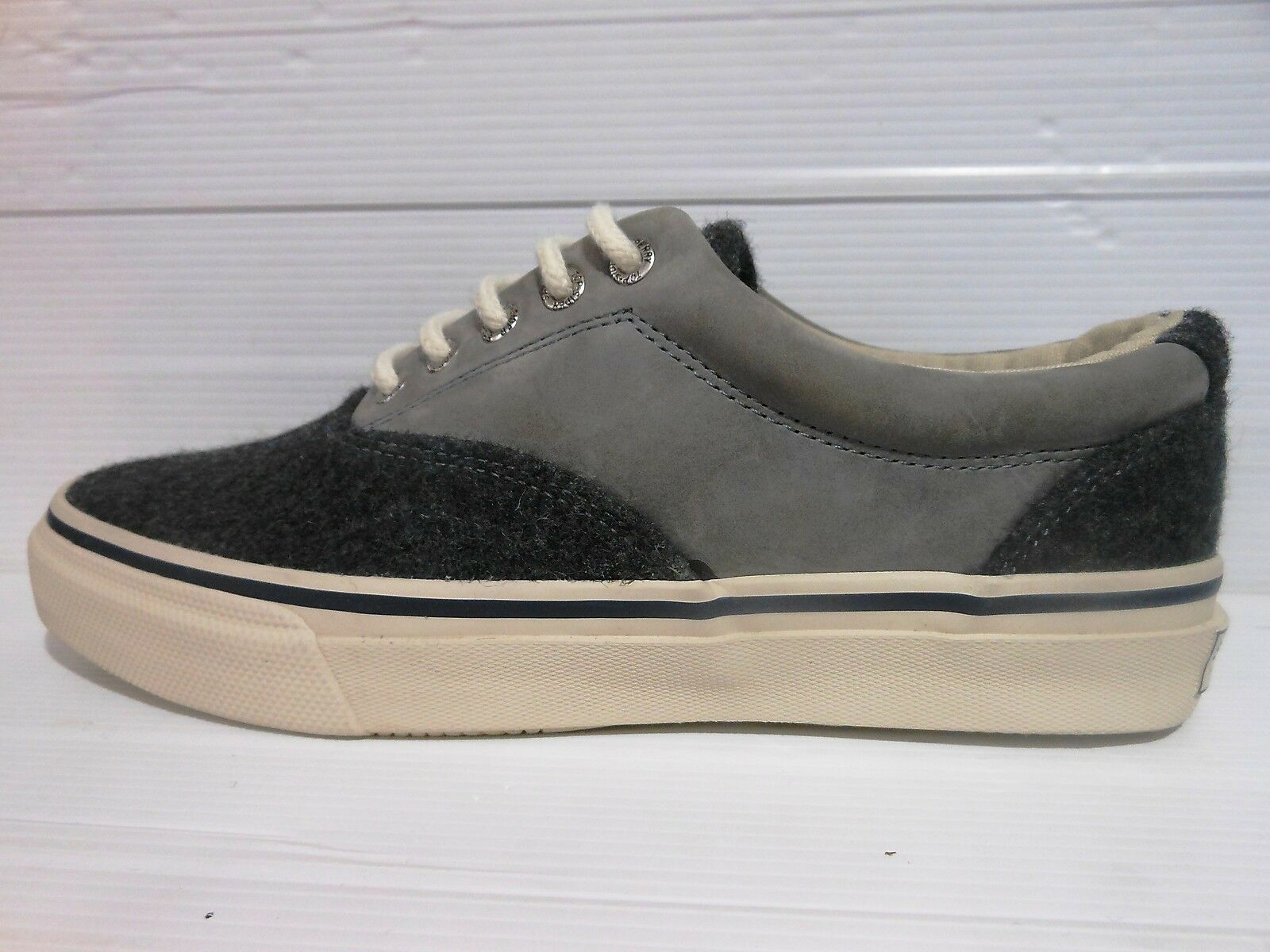 186 TOP-SIDER SPERRY COLORE SCARPA UOMO WOOL COLORE SPERRY GREY CODICE AW14M00591 7e4d93