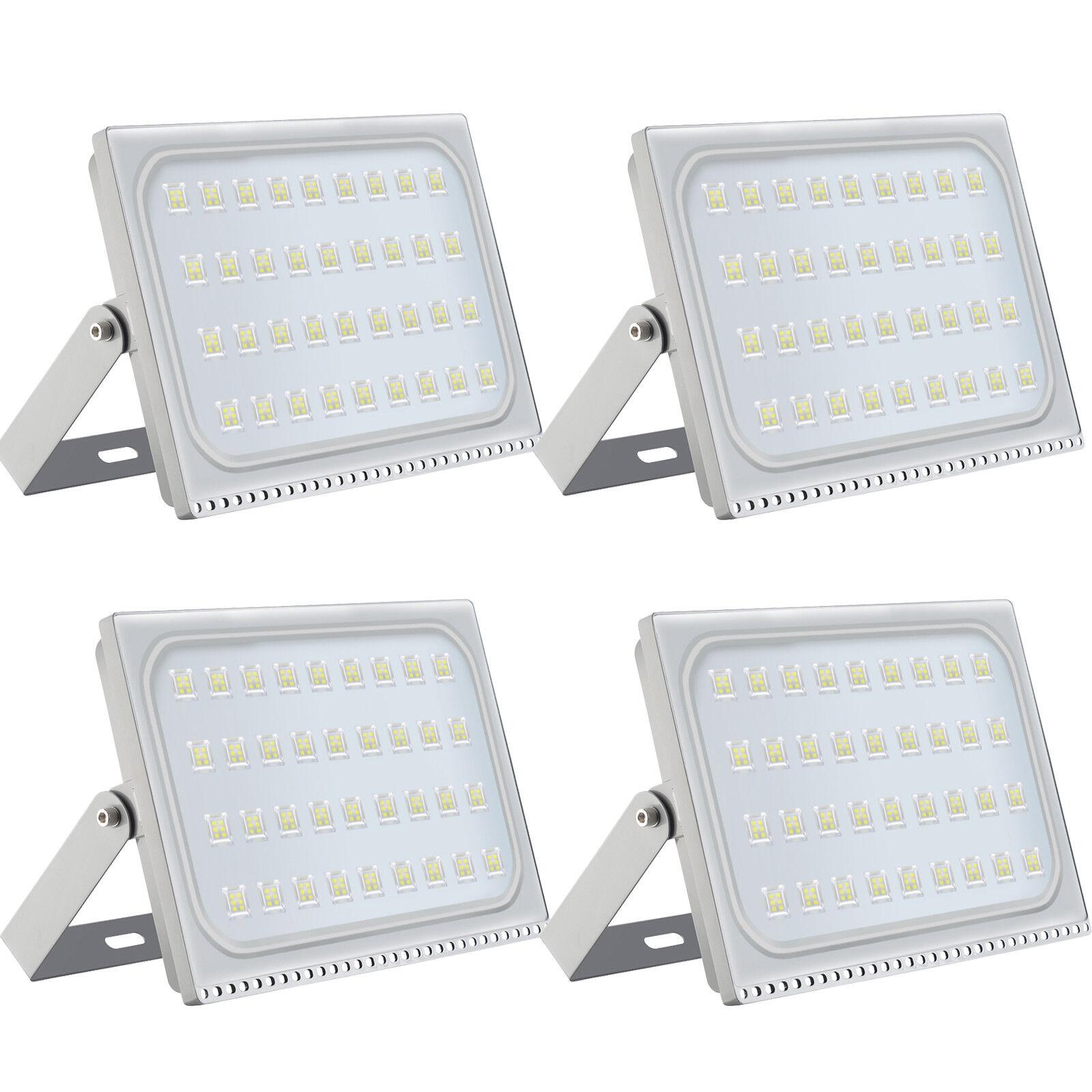 4x 200w extra fina LED eh reflector colocado exterior emisor de blancoo fria