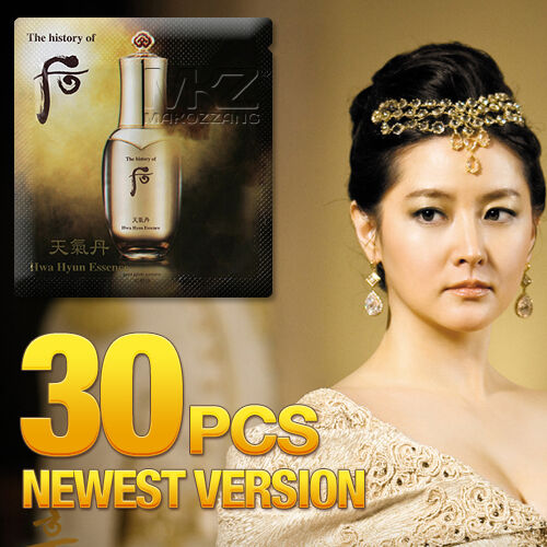 The history of Whoo Hwa Hyun Essence 30pcs Anti-Aging Korean Cosmetics Skin Care