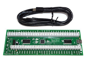 ARCADE IPAC 4 KEYBOARD ENCODER WITH  USB CABLE  4 PLAYER NEWEST VERSION!!!,