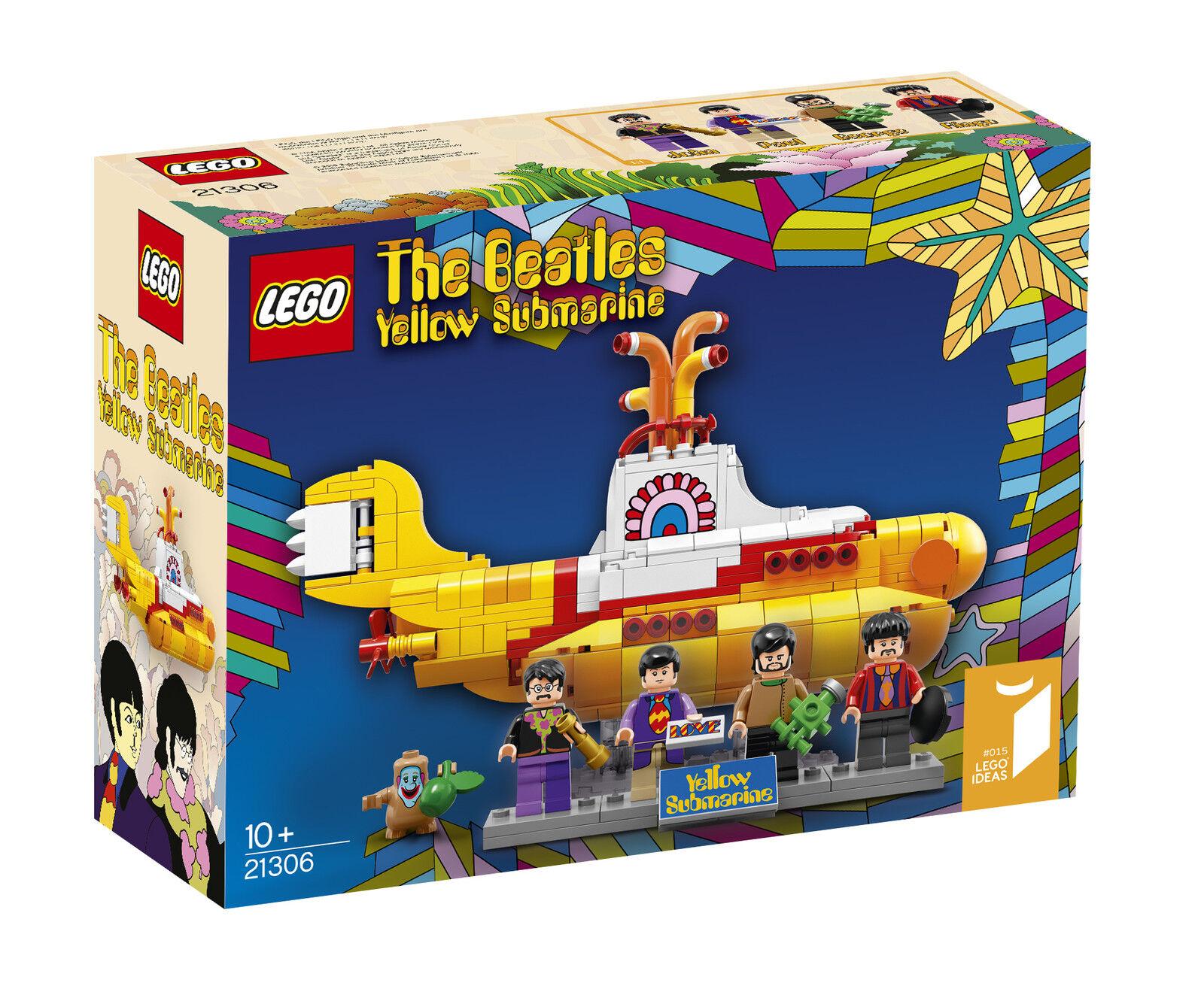 LEGO The Beatles Yellow Submarine 21306 - WORLDWIDE SHIPPING