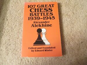 Details about Vintage Allan Troy Chess Book-1/2-SF #2--Alekhine's Chess  Battles