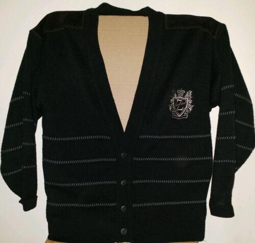 Vintage Z CAVARICCI Medium Cardigan Sweater Suede