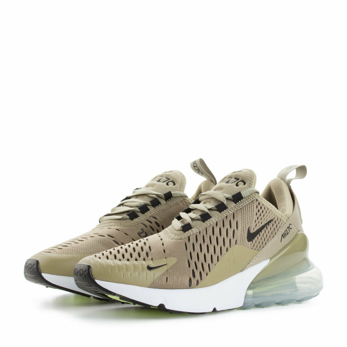 new style 4f025 b540c Details about WOMENS NIKE AIR MAX 270 - UK SIZE 3.5 - GREEN/BLACK/WHITE  (AH6789-200)