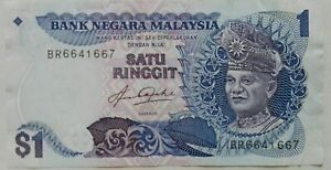 RM1 Aziz Taha sign Note BR 6641667