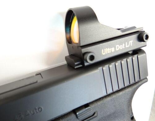 Optic Mount For S/&W M/&P Pistols No Pistol Mod Reqd Free Domestic Shipping!
