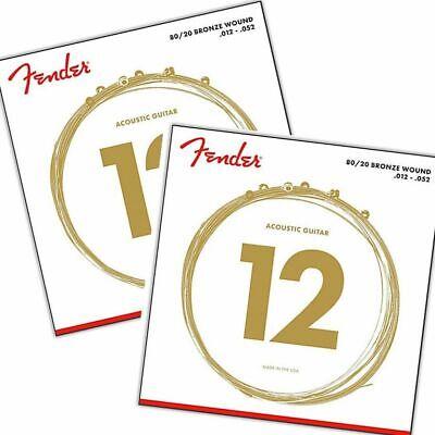 FENDER 70L Akustik Satz 012-052 80//20 Bronze