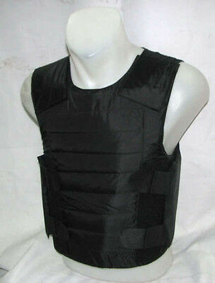 New Concealable Bullet Proof Vest + Stab Proof Body Armor NIJ IIIA Made In USA!