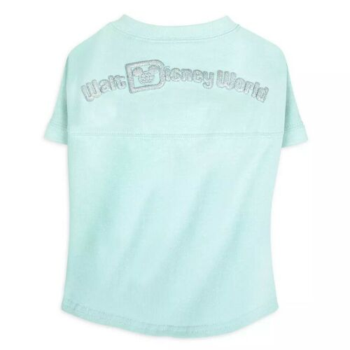 Disney Tails WDW Arendelle Blue Frozen Dog Size SMALL Spirit Jersey Shirt Pet