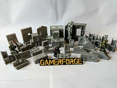 Factory Terrain for 28mm 40k Star Wars Legion Infinity Scenery Tabletop Wargame