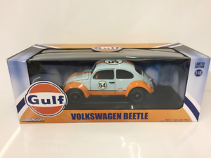 VW Beetle Gulf Oil Racer 1 18 Scale Greenlight 12994 New Boxed