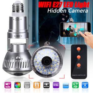 E27-Ampoule-Espion-Cache-HD-Camera-CCTV-Cam-WIFI-Detecteur-Mouvement-Nuit-Vision