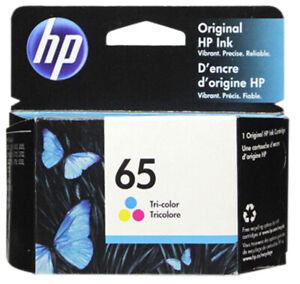 HP-65-Color-Ink-Cartridge-65-N9K01AN-NEW-GENUINE