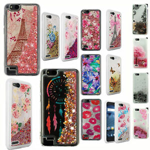 sports shoes 82ee3 d85f5 Details about For ZTE Tempo X N9137 Liquid Glitter Quicksand Hard Case  Phone Cover Accessory
