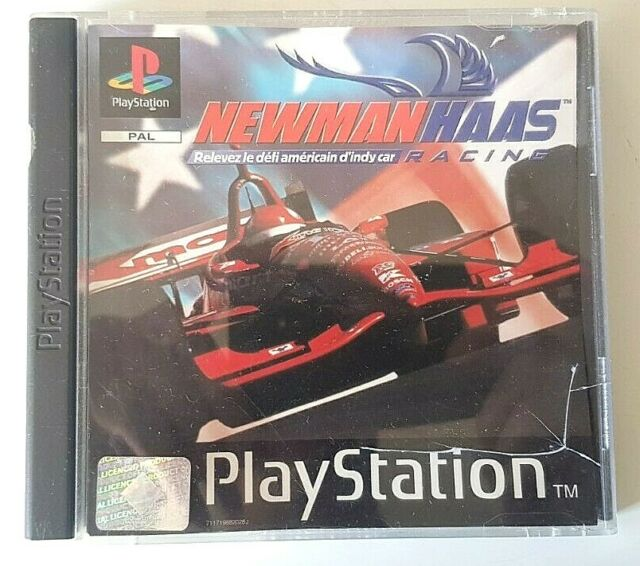 Newman Haas Racing - PlayStation 1 PS1 - PAL - Complet