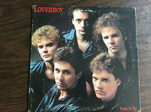 Loverboy ~ Keep It Up ~ Columbia QC 38703 ~ VG+ Stereo LP with Lyric Sheet!
