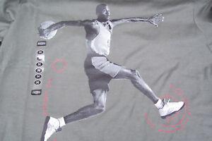 on sale ee92e 6ec48 Details about (NEW) Nike Air Jordan Retro 5 MJ Jumpman Dunk Olive Green  Men's T-Shirt M/Medium