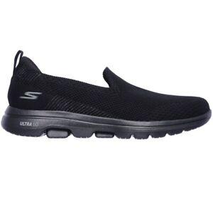Skechers Go Walk 5 Prized Black Slip On