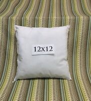Pillow Form Insert Square 12 X 12 Soft 100% Polyester Fill Made In Usa