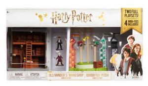 Brand new Ollivander Wand Shop Mini Playset Harry Potter Quidditch Pitch