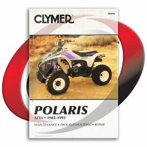 1994-1995-Polaris-Sportsman-400-4X4-Repair-Manual-Clymer-M496-Service-Shop