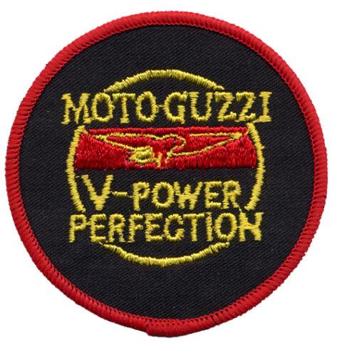 Moto Guzzi Circle Embroidered Patch