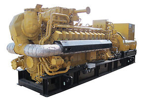Details about New Caterpillar G3520, 2500KW Natural Gas Generator Sets  any  voltage