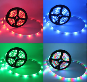 Waterproof-LED-Strip-Light-5M-16-4ft-300-LEDS-12V-IP65-SMD-5050-Christmas