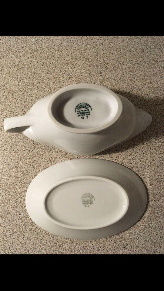 Porcelæn, Sovseskål, Pilliivuyt