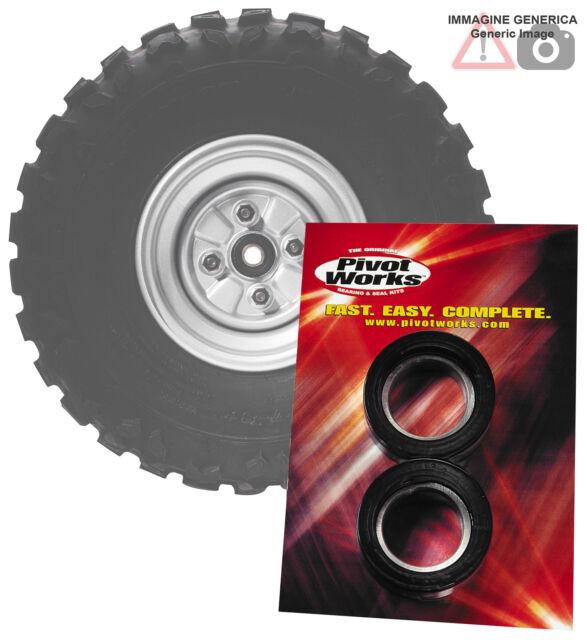 Kit cojinete rueda traseras Honda 500cc CR500R 1986 PIVOT WORKS PWRWK-H01-521