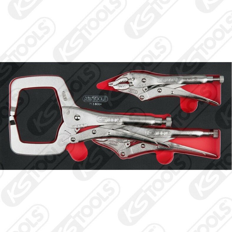 KS Tools SCS pinzas-frase, 4 4 4 piezas en 1/3 sistema de depósito o 713.8004 a2e397
