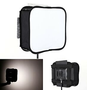 SB600 Softbox Diffuser for YONGNUO YN600L II YN900 Led Video Light Panel Fold...