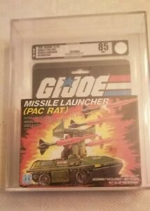 G.i.joe Arah Pac / rat Lanceur de missiles (hasbro, 1983) Afa 85 No Barcode