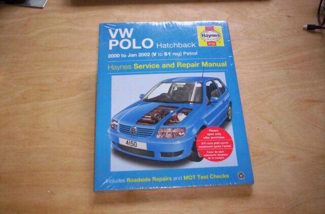 Service & Repair Manuals 00-02 4150 Workshop Car Manual VW Polo ...