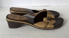 Soft Style by Hush Puppies Womens US 7.5 M EUR 38/39 N UK 5.5 N Brown Sandals