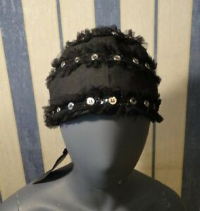 NWT John Richmond Prima Linea  Black Hat 57 Very Rare and so Cute